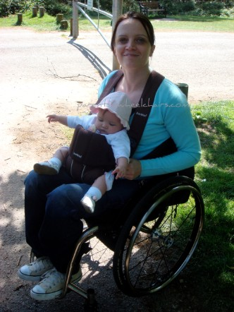 Parents In Wheelchairs Baby Carrier